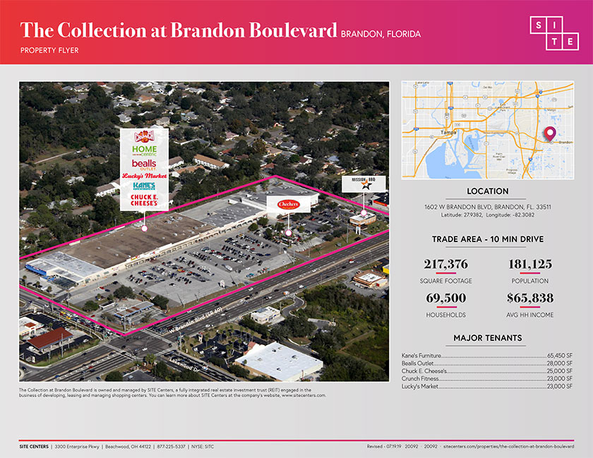 The Collection at Brandon Boulevard - Page 1